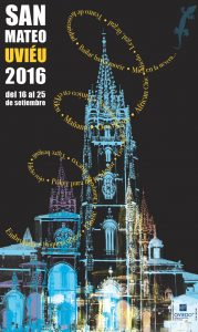 Cartel fiestas San Mateo 2016