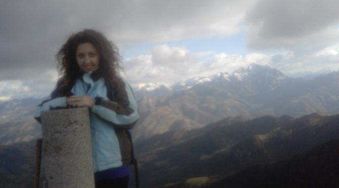 Picu Tres Concejos, 1100 m. Mieres