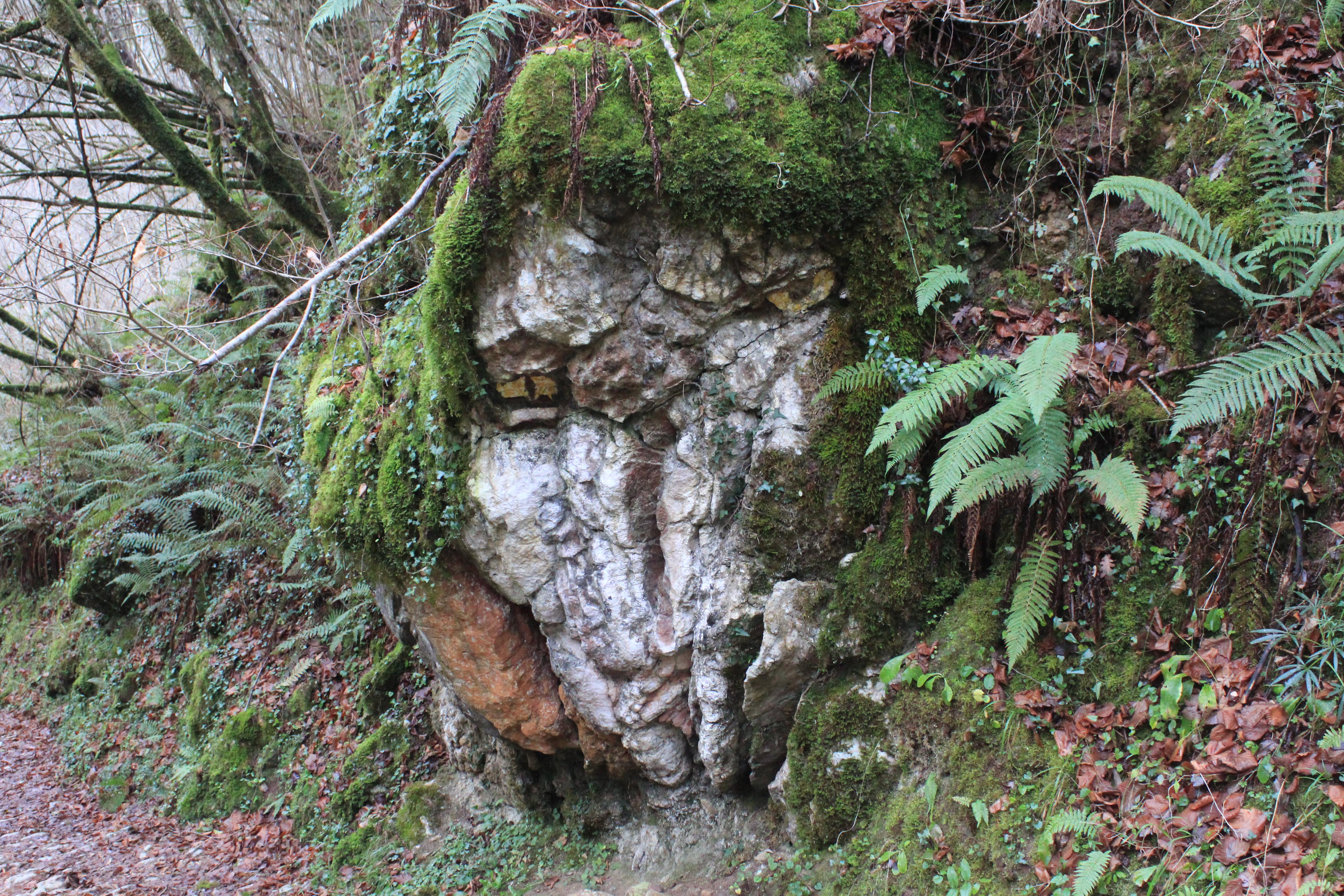 Desfiladero del Beyu Pen- Mitologia a pie de roca
